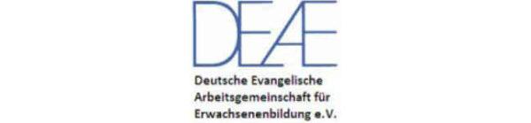 Logo der Deutschen Evangelischen Arbeitsgemeinschaft für Erwachsenenbildung (DEAE)