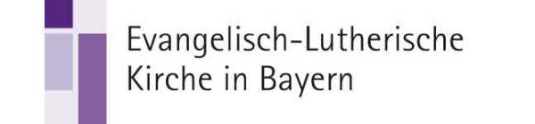 Logo der Evangelischen Lutherischen Kirche in Bayern